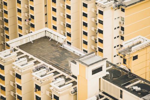 Terraza Del Edificio Fondos Gratis
