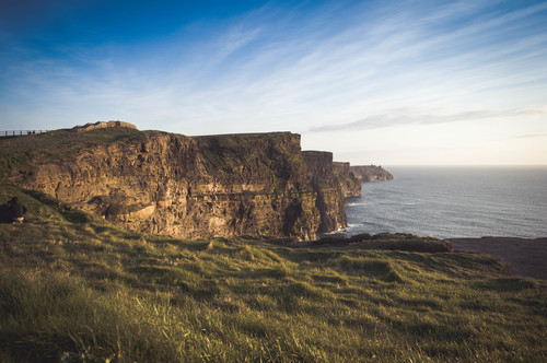 Landscape of Cliffs of Moher, Ireland
