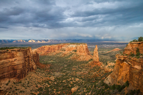 View on Colorado National Monument, Fruita, United States
