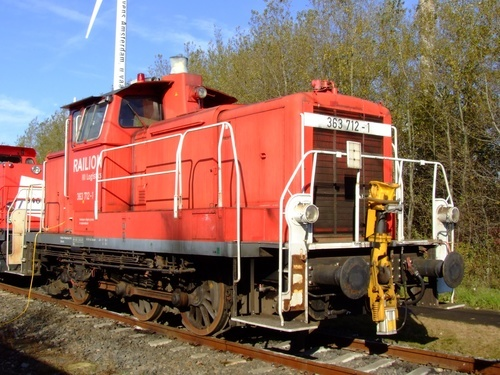Deutsche Bahn smaller locomotive