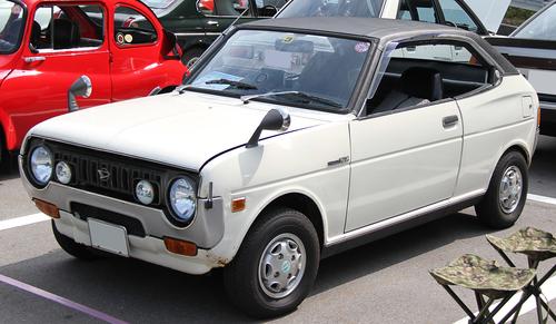 Old Coupe Daihatsu Fellow Max Public Domain Photos