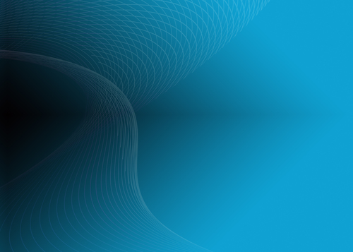 Blue background wavy lines