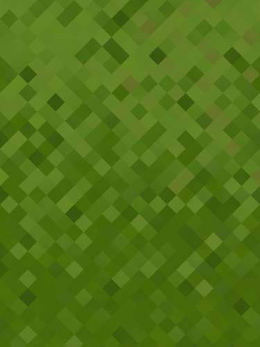 Green background with pixel pattern