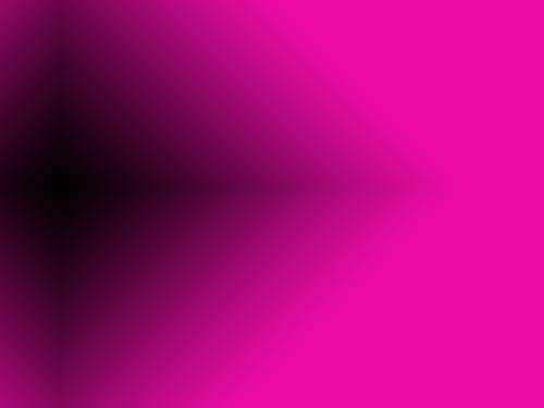 Pink background with black light