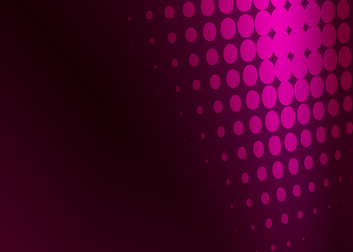 Pink halftone purple background