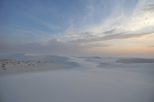 Dunes in White Sands