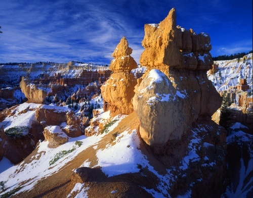 Bryce Canyon in daylight