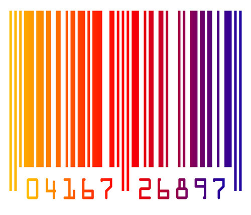 Colorful barcode