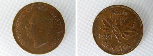 Canadian cent