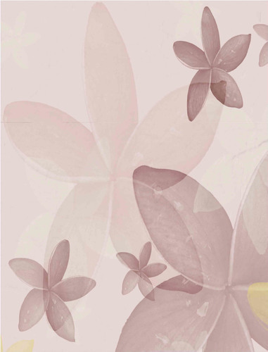 Floral background in pastel tones