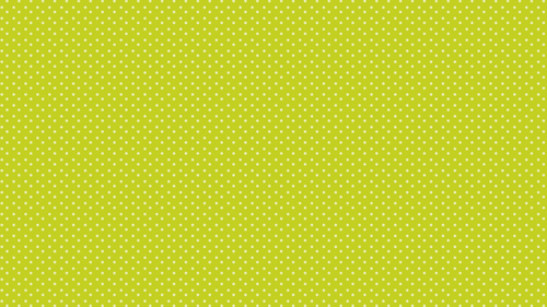 Polka dots yellow green background