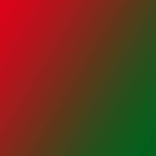 Red and green gradient