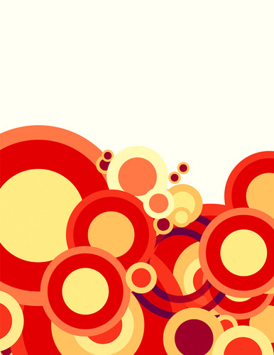 Red and yellow circles
