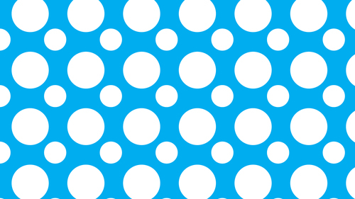 Blue background with circles wide format