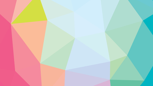 Polygonal background wide template