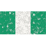 Nigerian flag with holes