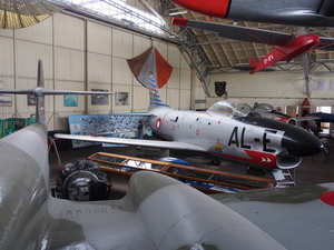Aircrafts in museum