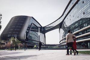 Modern building in Shanghai