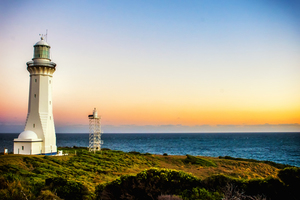 Lighthouse in beautiful day