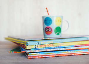 Storybooks with kid's cup
