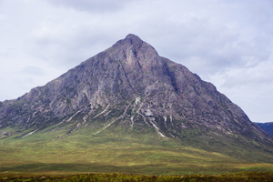 Sharp peak on the mountain