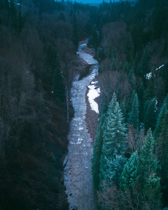 River canyon in Aspen