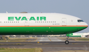 Boeing 777 of EVA Air