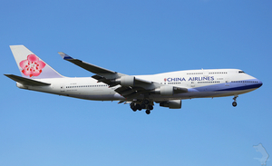 Boeing 747 of China Airlines
