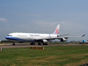 Airplane by China Airlines