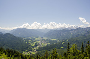 View from Bad Goisern, Austria