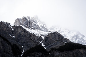 Cold peaks of Banff, Canada