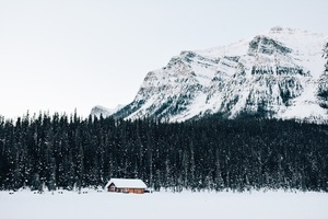 House in Banff National Park, Canada