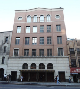 Building of Brooklyn tabernacle