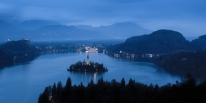 Night over Bled