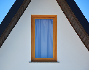 Tall house window