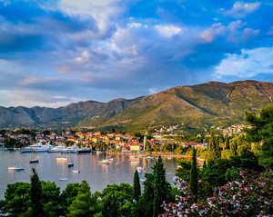 Boats of Cavtat, Cavtat, Croatia