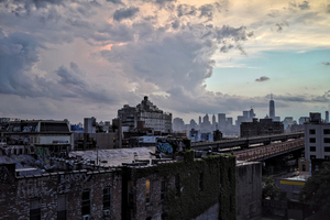 Sky over Brooklyn, New York, US