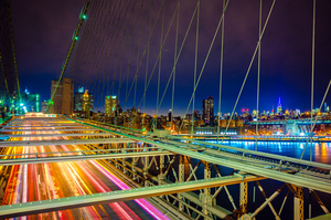 Lights of Brooklyn Bridge