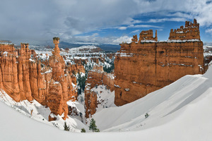 Bryce Canyon in the winter