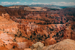 View on Bryce Canyon, United States