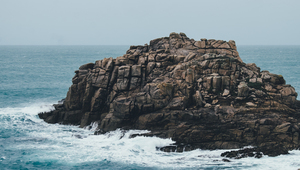 Rock in Bryher, United Kingdom