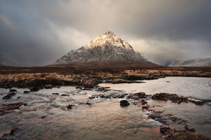 View on Buachaille Etive Mor, Ballachulish, UK