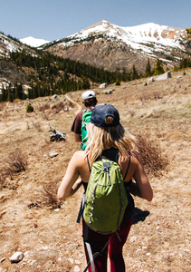 Couple hiking in Buena Vista, US