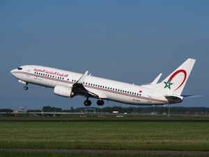 Royal Air Maroc Boeing decolla