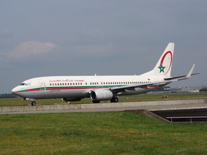 Royal Air Maroc airliner