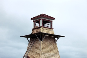 Tower in Cabot Beach Provincial Park, Canada