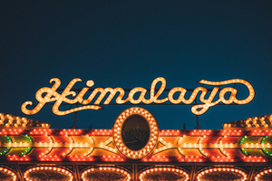 ''Himalaya'' lighting sign