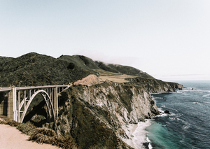 Bridge near the coast