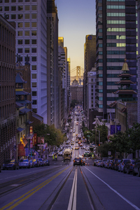 San Francisco's street, United States