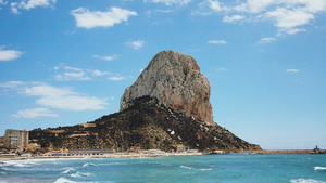 Coast of Calp, Spain